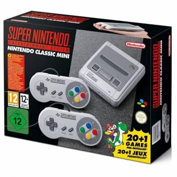 Nintendo Classic Mini SNES 21 Gier