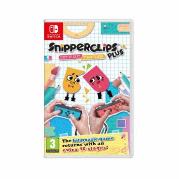 Snipperclips Plus Cut It Out Together - Nintendo Switch